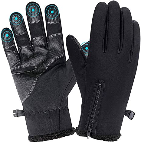 Full Finger Touch Screen Gloves For Bicycle Motorcycle Driver Biker Rider Ski