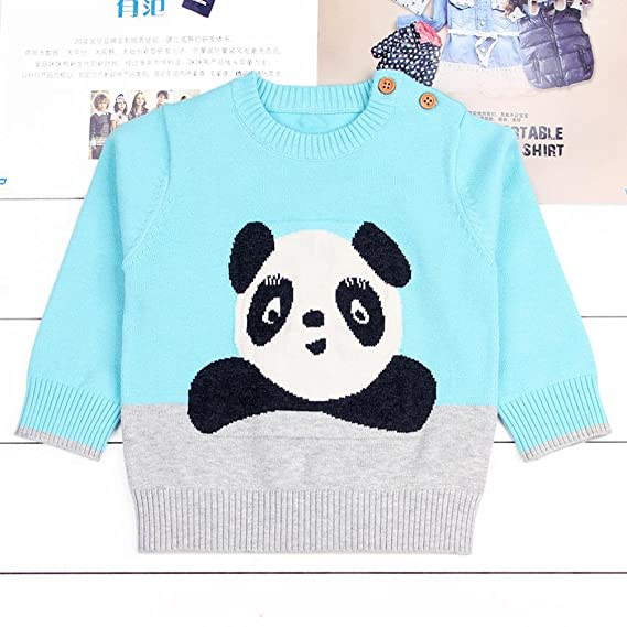 800a43241 Saingace Spring Autumn Winter Toddler Girls Boys Baby Panda Sweater ...
