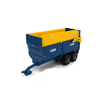 Britains 1:32 Kane 16 Tonne Silage Trailer Collectable Farm Toy Attachment Compatible with All 1:32 Vehicles Suitable from 3 Years: Toys & Games