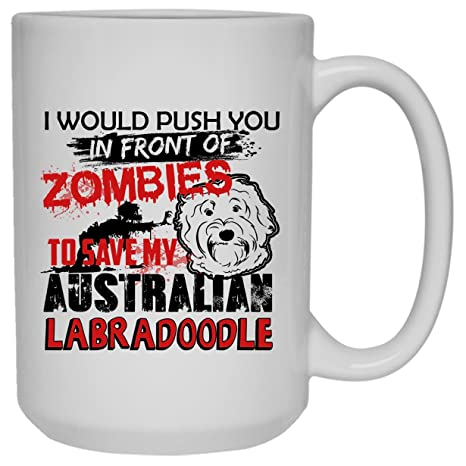 Amazon com: Australian Labradoodle White Mugs - Save My