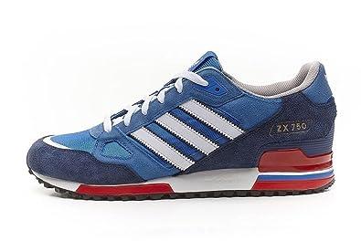 Adidas Zx 750 Blau Weiß Rot