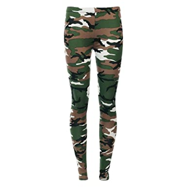 74ca22c6d6cf9 ZEE FASHION Womens Tartan Check Print Elasticated Ladies Full Length Long  Leggings Size UK 8-26: Amazon.co.uk: Clothing