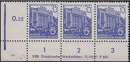 2864-2867 DV gestempelt Druckvermerk Briefmarken f/ür Sammler Goldhahn DDR Nr