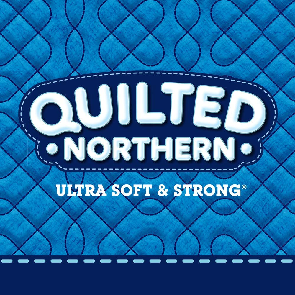 Quilted Northern Ultra Soft & Strong Toilet Paper, 48 Double Rolls, 164 2-Ply Sheets Per Roll by Quilted Northern (Image #11)