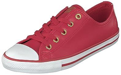 Dainty OX Damen Sneakers Low-Top Niedrig Rot Größe 37 Converse FmEH3uYR
