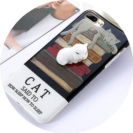 Amazon.com: crazy-shop - Carcasa para iPhone 6, 6S, 7, 8 ...