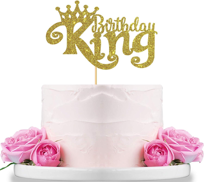 3rd Birthday Crown Cake Topper