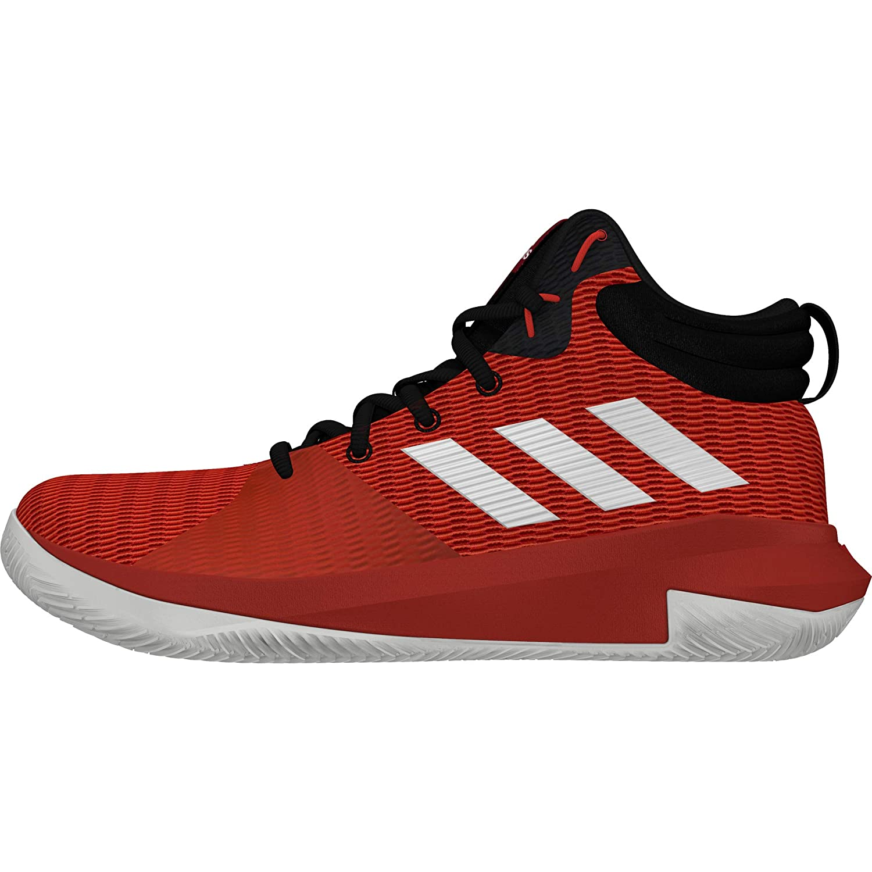Rouge (Escarl Ftwbla Negbás 000) adidas Pro Elevate 2018, Chaussures de Basketball Homme 50 EU