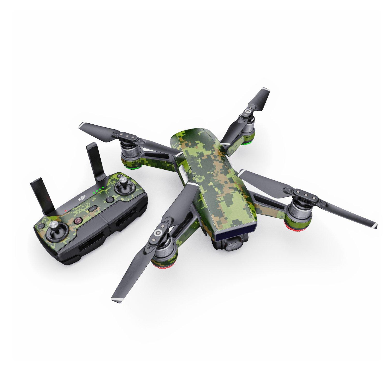 Calcomanía de Camuflaje CAD para dron dji Spark Kit - Incluye Piel ...