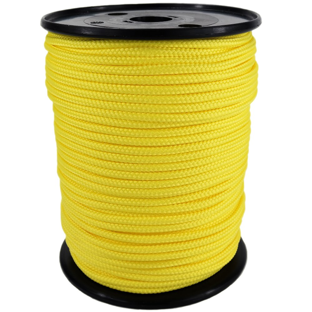 PP Seil Polypropylenseil SH 10mm 250m Farbe Gelb (1132) Geflochten