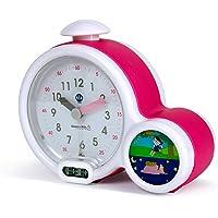 Claessens' Kid - Clock - Réveil Enfant Educatif Jour/Nuit Lumineux - Double Affichage et 3 Alarmes au choix - Fonctionne Sur Secteur ou à Piles - Coloris au choix