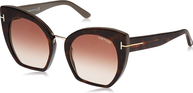 Tom Ford Sonnenbrille Samantha (FT0553) Marron (Avana)