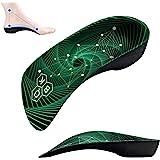 3/4 Arch Support Insoles for Women/Men,QBK Orthotics Shoe Insoles High Arch Supports Shoe Insoles for Plantar Fasciitis, Flat
