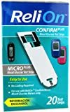 Relion Confirm/Micro Test Strips 20 Ct by Reli On