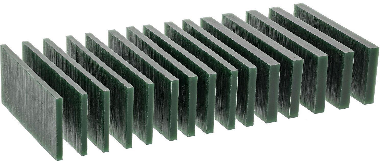 Carving Blocks Dk Grn (hard)1/2lb Sliced - WAX-332.25 Freeman