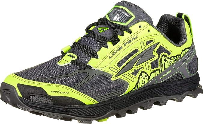 Altra Lone Peak 4.0 Zapatillas de Trail Running Yellow: Amazon.es ...
