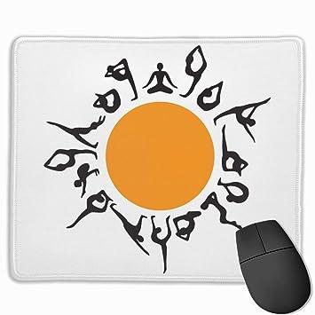 Alfombrilla de ratón para Juegos Yoga Sun Print Gaming Mouse ...