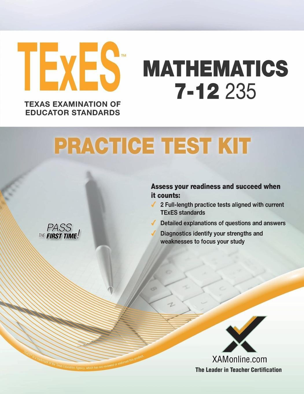 Passing the texes certification exam - Texes Mathematics 7 12 235 Practice Test Kit Sharon A Wynne 9781607873907 Amazon Com Books