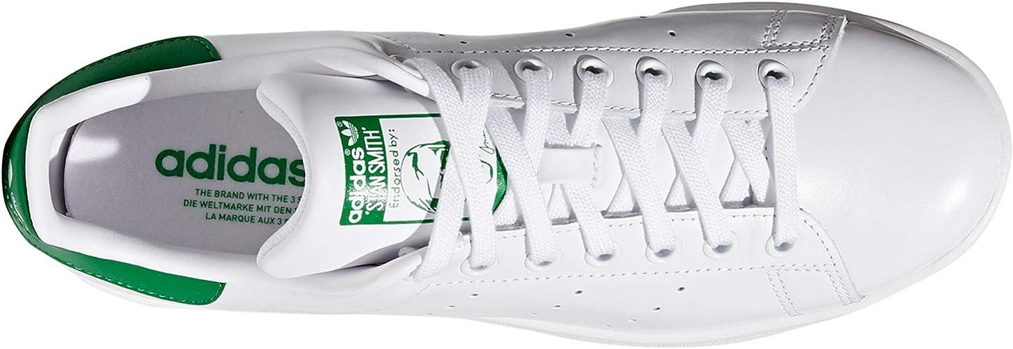 adidas Stan Smith para Hombre, Zapatillas Blancas, Deportivas de Moda, Sneaker Tenis.g: Amazon.es: Zapatos y complementos