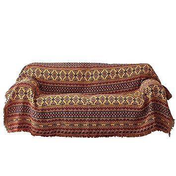 ZCM Toalla de sofá, Personalizadas Cubierta de Tela Protectora Sillón Sofá de Tela de Polvo Sofá Toalla J-63 (una Pieza) (Tamaño : 90 * 90cm): Amazon.es: ...