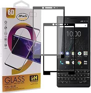 Guran [2 Paquete Protector de Pantalla para Blackberry Key2 ...