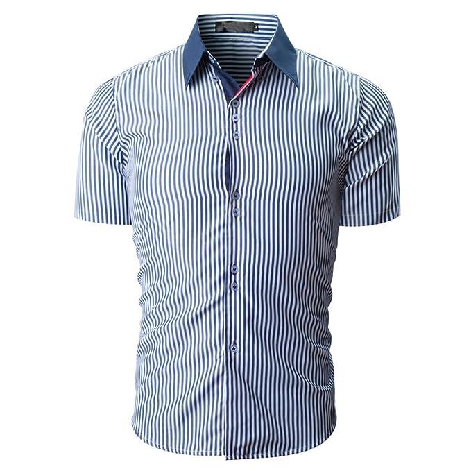 BURFLY Solid Gestreiftes T-Shirt 2018 Männer Slim Fit Shirt Fashion Striped  Farbe Männlich Casual 27d5706ba7