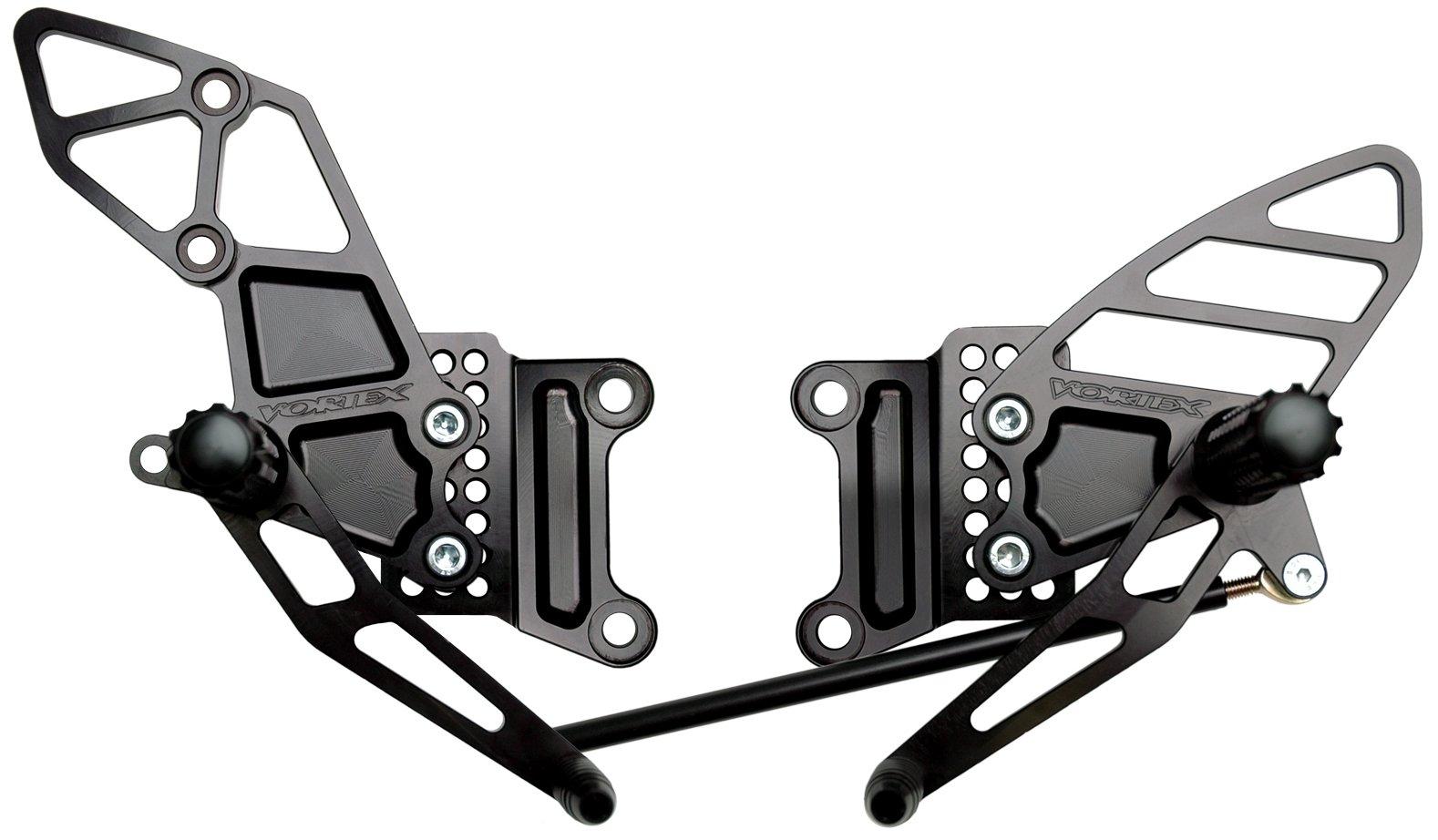 Vortex RS407K Black Rear Set