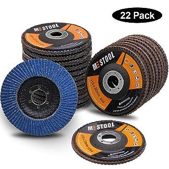 "20 Pack 4.5"" x 7//8/"" Jumbo 60 Grit Zirconia Flap Disc Grinding Wheels T29"
