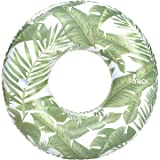 FUNBOY Giant Inflatable Tropical Jungle Tube Float, Luxury Raft, Perfect for a Summer Pool Party