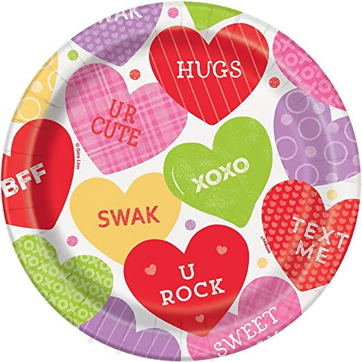 """20 Count of 4/"""" Heart Cutouts Decorations Anniversary Valentine/'s Day Party SP"""