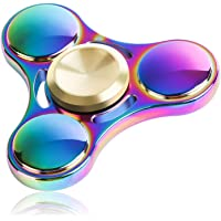ATESSON Fidget Spinner Toy Durable Stainless Steel Bearing High Speed Spins Precision Metal Hand Spinner EDC ADHD Focus Anxiety Stress Relief Boredom Killing Time Toys for Adults Kids