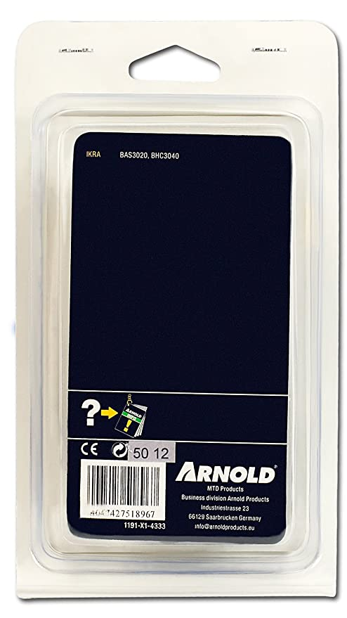 Arnold Sägekette für Motorsäge IKRA BAS3020  Schwert 20 cm 3//8 1,1