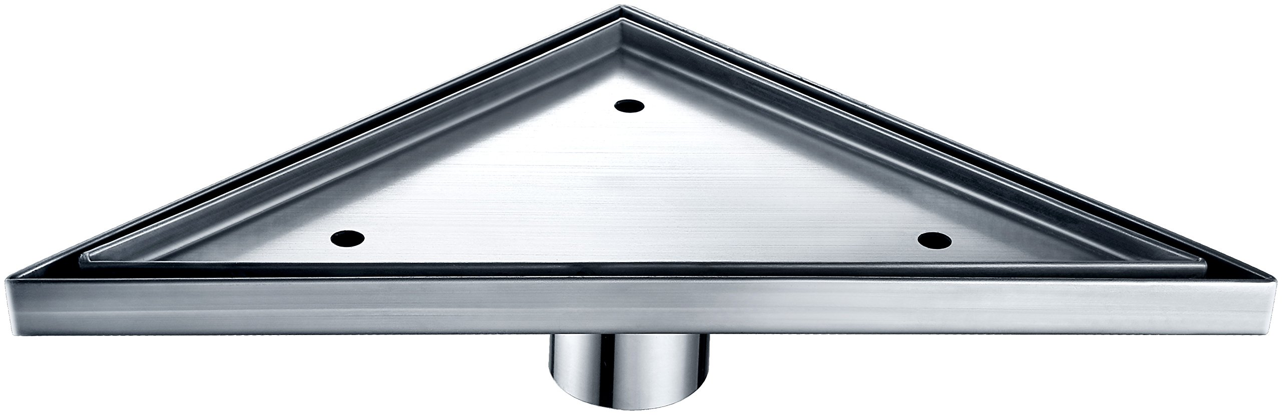 Dawn TCO131004 Contemporary Colorado River Series Triangle Shower Drain