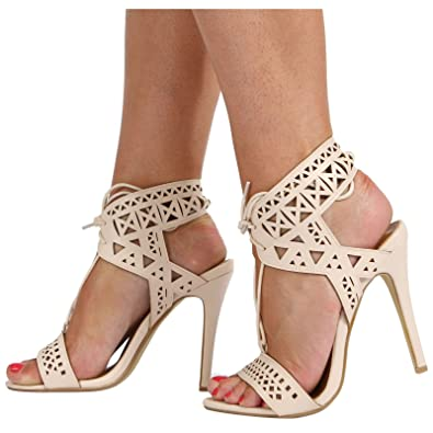Femme 'beast' Bout Talon Le Ouvert Aiguille Chaussures De Coupé v7OZZq