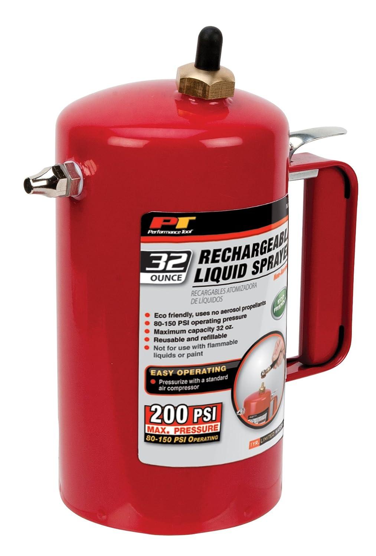 Performance Tool M715 Eco-Friendly Non-Aerosol Reusable Liquid Sprayer