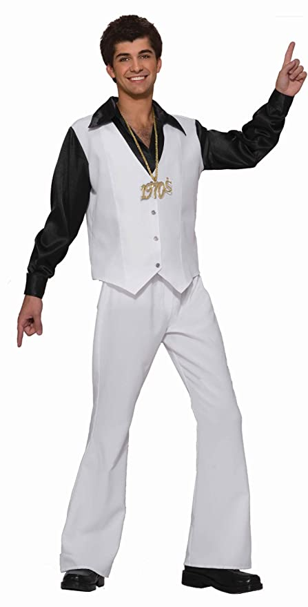 70s Costumes: Disco Costumes, Hippie Outfits Forum Novelties Disco Dancing Stud Adult Costume Standard $44.99 AT vintagedancer.com