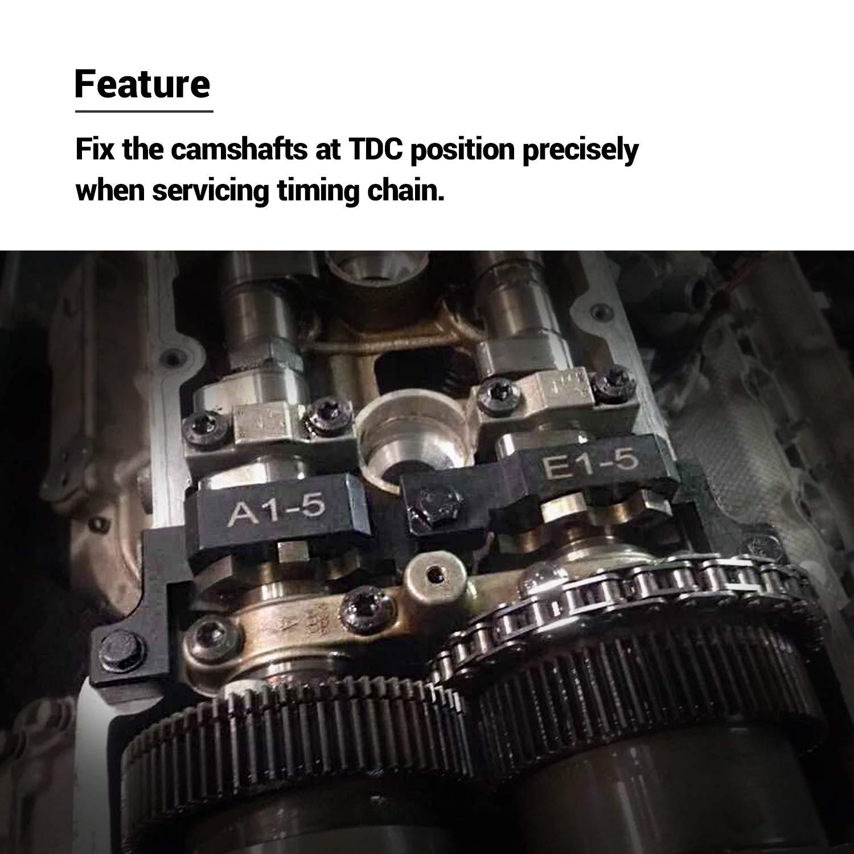 EWK Camshaft Alignment Timing Tensioner Tool Socket for BMW S85 E60 E61 M5 E63 E64 M6