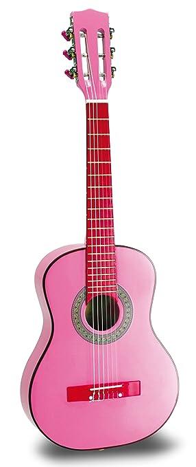 Bontempi - Wooden Pink Guitar 75 Cm. GSW 7571: Amazon.es: Juguetes ...
