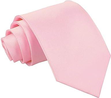 SSS(dqt) - Corbata - para hombre Rosa rosa pastel Talla única ...