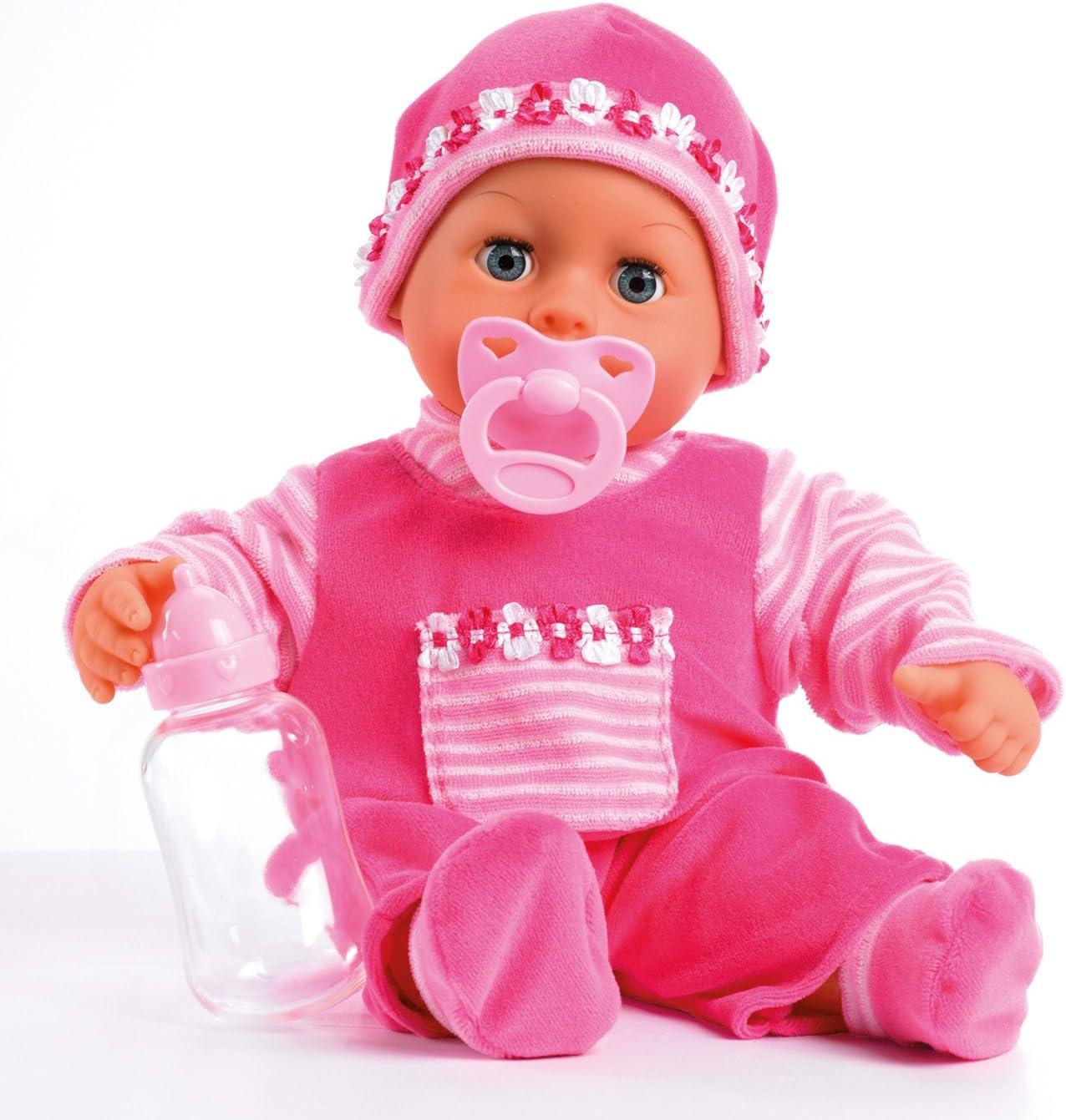 Amazon.es: Bayer Design - 93825AA - Muñeca bebé primeras Palabras ...