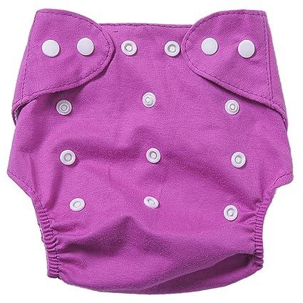 Badynoo BDN01 de bebé se puede lavar a resistente al agua de tela de algodón pañales