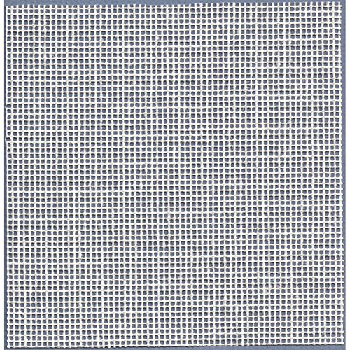M.C.G. Textiles Fabric for Needlepoint 14 Count Interlock Needlepoint Canvas Cut, 36 by 40-Inch, White