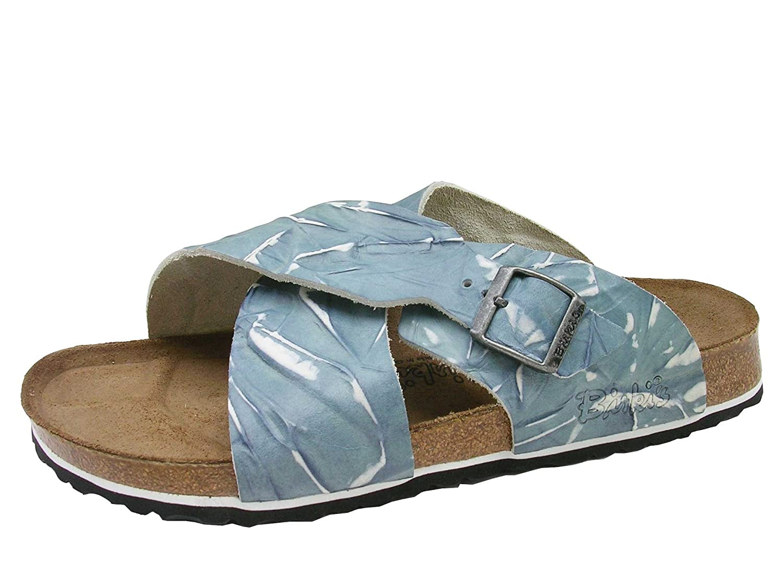 db09a6456086 Amazon.com | Birki's Guam Leather Crossover Strap Sandal U. S. width ...