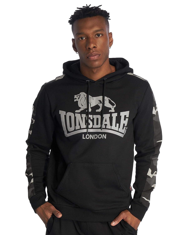 Lonsdale London Santley Sudadera con Capucha Negro