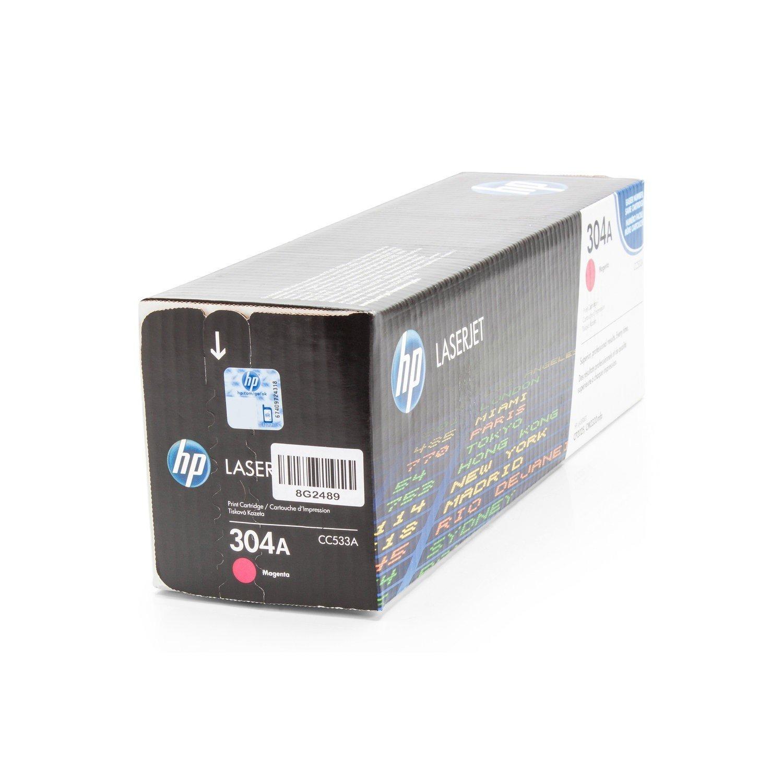 Cartucho original para HP Color LaserJet CP 2026 HP 304 A CC533 A ...