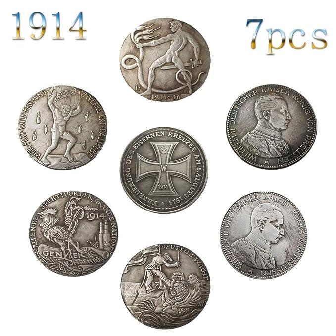 1914,Alemania,Wilhelm Ii,Primera Guerra Mundial,Monedas ...