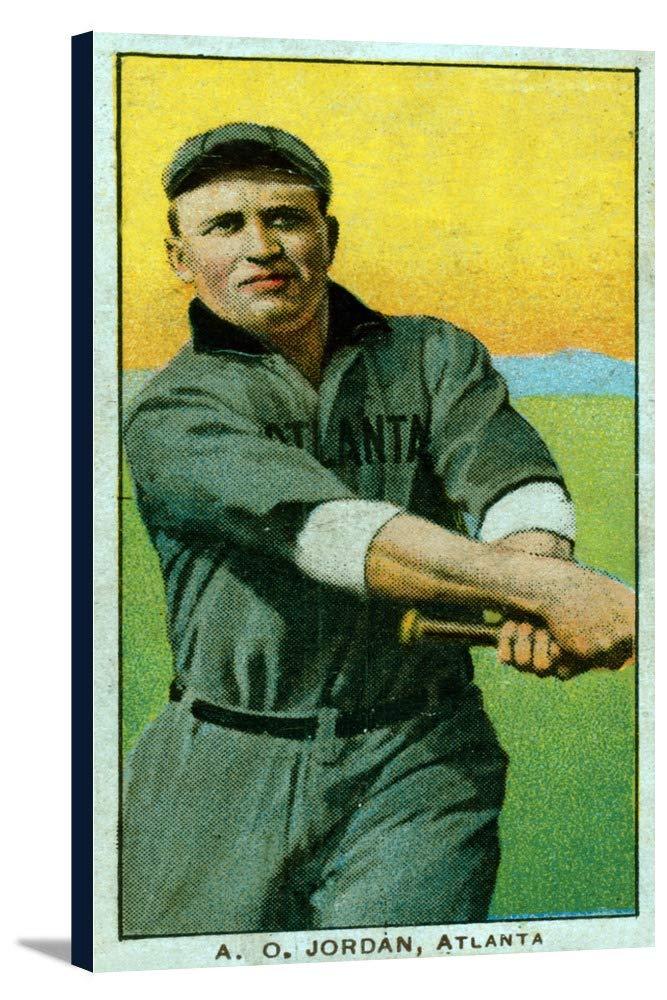 Atlanta Southern League – A O Jordan – 野球カード 19 3/8 x 36 Gallery Canvas LANT-3P-SC-23310-24x36 19 3/8 x 36 Gallery Canvas  B0184AANFY