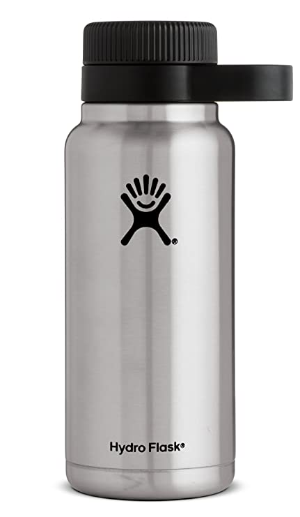 Hydro Flask 32 oz Beer Growler | Stainless Steel & Vacuum Insulated |  Easy-Carry Handle | Stainless