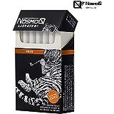 [NosmoQ] 禁煙グッズ, ハーブタバコ、100%ハーブ葉、ヘーゼルナッツ味、健康のためのニコチン、健康のための化学物質。1パック [並行輸入品] (ヘーゼルナッツ味)