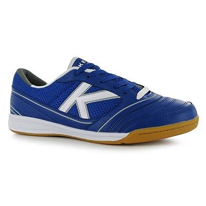 b4368d578d6 KELME America Indoor Football Futsal Trainers Mens Blue Wht YEL Soccer  Sneakers (UK7